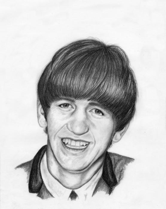 Ringo Starr par Flocon